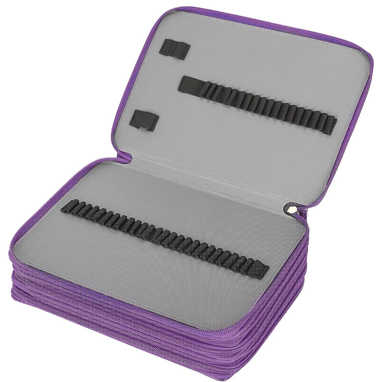 Pencil Case Max 86% OFF Pouch Bag 252 5-Layer Elegant Slots Box