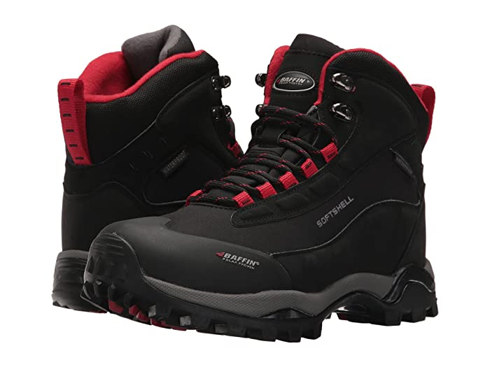 Baffin  Hike (Black/Red) Womens Cold Weather Boots