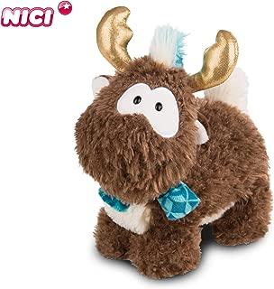 NICI 44107 Reindeer Reny Heart 20cm Standing Toy, Brown