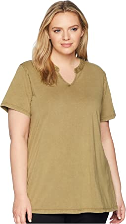 Plus Size Casia Short Sleeve Top