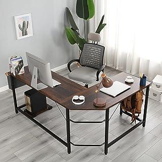 BeLuck Modern Design L-Shaped Desk Corner Computer Desk...