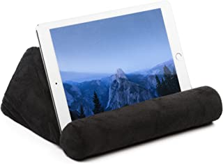 iPad Tablet Stand Pillow Holder - Universal Phone and Tablet Stands and Holders Can Be Used on Bed, Floor, Desk, Lap, Sofa, Couch - Black Color