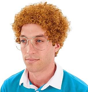 Sweet Nerd Geek Costume Wig Glasses Kit