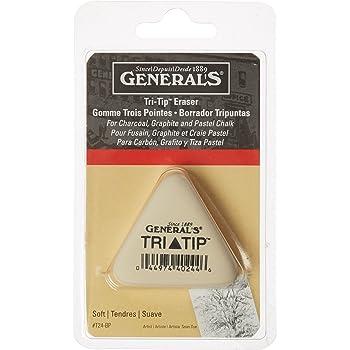 General Pencil GPT24BP Tri-Tip Eraser-