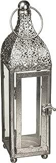 Zings & Thingz 57070912 Brilliant Candle Lantern, Gray