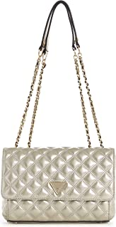 Guess Cessily Convertible Xbody Flap Champagner