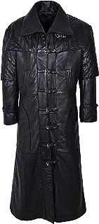 Smart Range Men's Captain Full Length Van Helsing Nappa Leather Jacket Coat