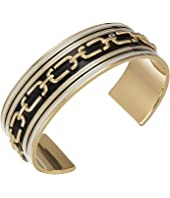 Marc Jacobs - Double J Enamel Wide Raised Chain Cuff