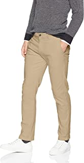 Amazon Essentials Men's Slim-Fit Casual Stretch Khaki