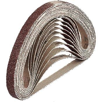 Air Finger Sander Sanding Belts Grinder Woodwork 330 x 10mm 25 PACK AU023
