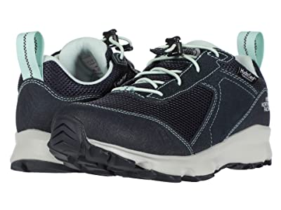 The North Face Kids Hedgehog Hiker II Waterproof (Little Kid/Big Kid) (Urban Navy/Moonlight Jade) Girls Shoes