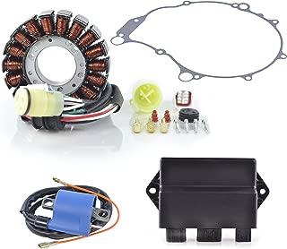 Kit HO Stator + HP CDI Box + External Ignition Coil + Crankcase Cover Gasket Fits Yamaha YFM 660 Raptor 2001