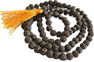 Rudraksh Mala for wearig Purpose Energised with Almond Oil