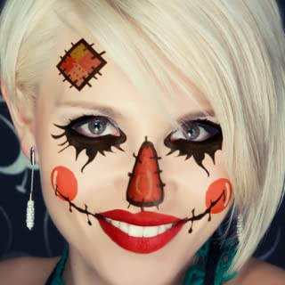 Halloween Makeup – Scary Face Makeup