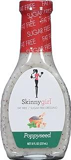 Skinnygirl Salad Dressing, Poppyseed, 8 Ounce (Pack of 12)