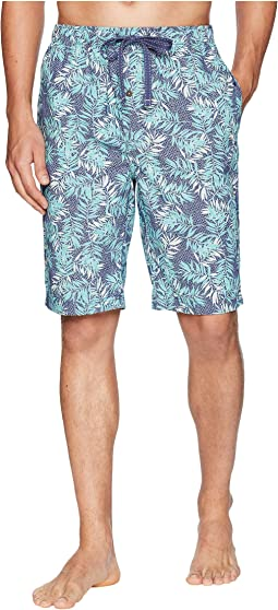 Island Washed Cotton Woven Jam Shorts