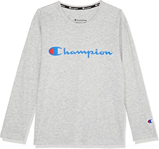 Champion Kids Script Long Sleeve Tee