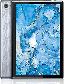 Dragon Touch Notepad 102 Tablet 10 Pulgadas Android 10.0 Tablet Procesador Octa Core 3GB RAM 32GB ROM con 5G WiFi Bluetooth 5.0 GPS IPS Pantalla Puerto USB Tipo C Doble Cámara Cuerpo Metálico Gris