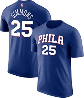 2a0eee9be07 Outerstuff NBA Youth Performance Game Time Team Color Player Name Number  Jersey T-Shirt