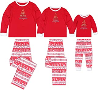 Matching Family Pjs Christmas Entire Family Jammies Cotton Pajamas Sets Best Kids Sleepwear Xmas A11