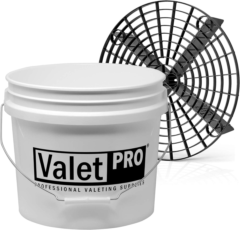 Detailmate Set Valetpro Wash Bucket 3 5 Gal Ca 12l Wascheimer By Grit Guard Gritguard Einsatz Auto