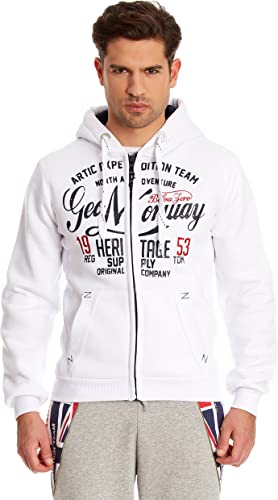 Geographical Norway - Sweat Geographical Norway Gravity Blanc
