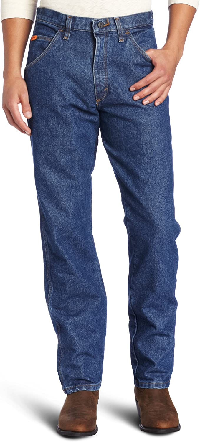 Wrangler Riggs Workwear mens FR Flame Resistant Relaxed Fit Jean