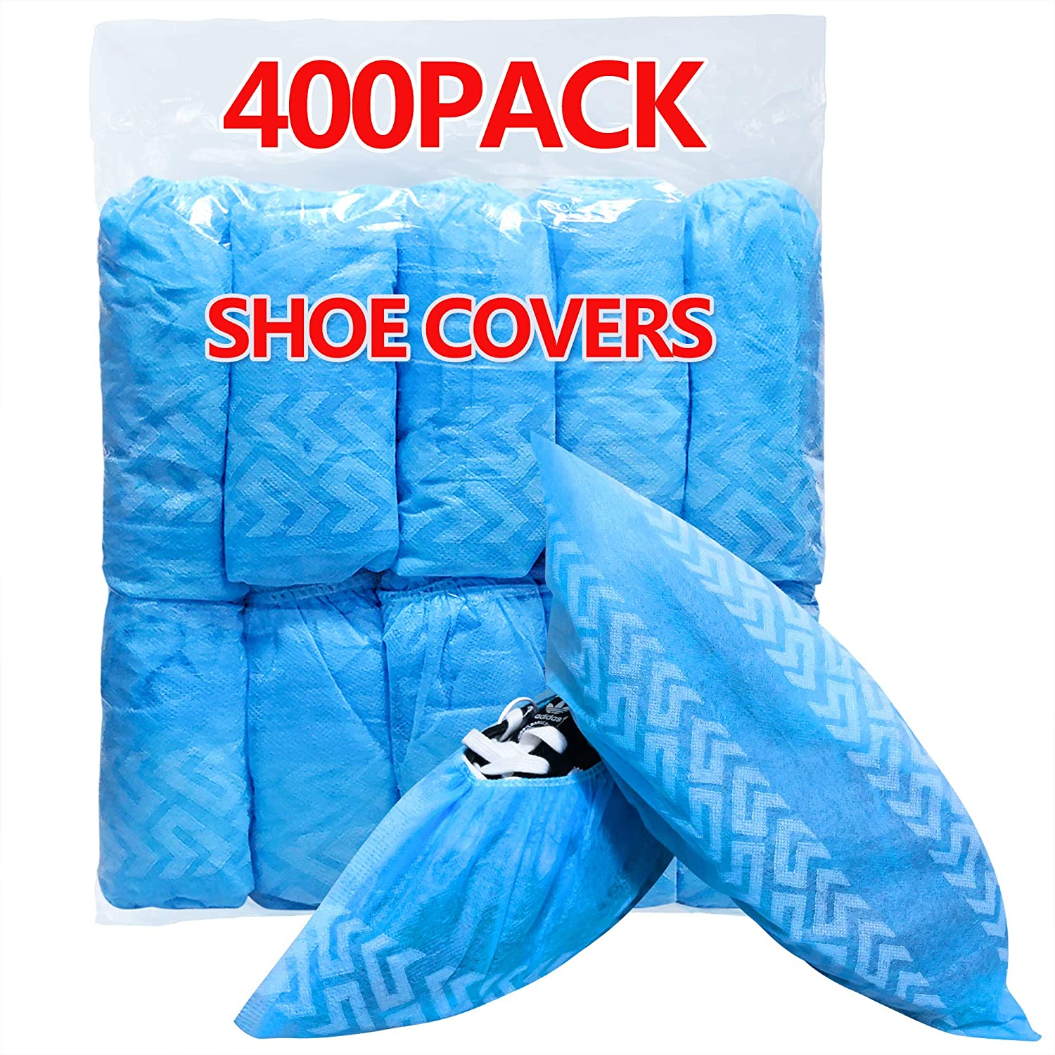 HUADYMEET Large special price !! Shoe Covers Disposable XLarge N Waterproof Don't miss the campaign