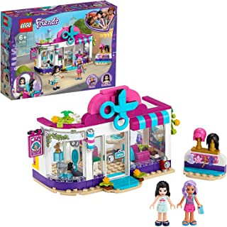 LEGO 41391 Friends Heartlake City Hair Salon Playset with Emma Mini Doll, Wigs and Hair Accessories for 6+ Year Old