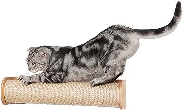 MYZOO cylinder, kattskrapare, repstolpe, väggmonterad sisal aktivitetsstång