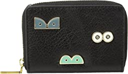 Fossil - Mini Wallet RFID Mini Zip Card Case