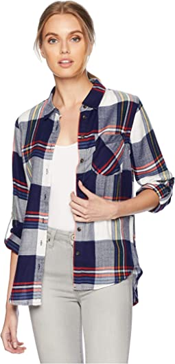 Button Down Shirt w/ Front Pocket