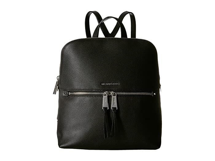 6034a9655083 MICHAEL Michael Kors Rhea Zip Medium Slim Backpack at Zappos.com