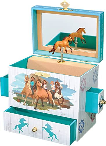 Breyer Spirit Riding Free - Spirit and Lucky Musical Horse Jewelry Box