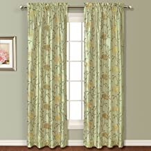 United Curtain Avalon Window Curtain Panel, 54 by 84-Inch, Sage