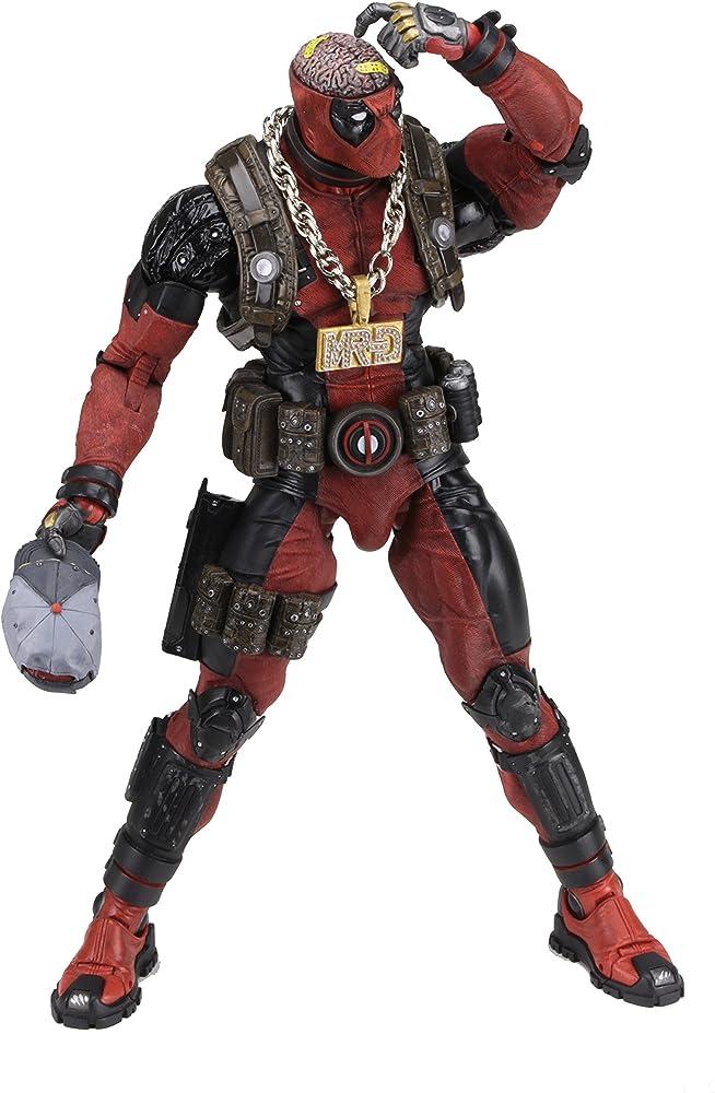 Neca , statua deadpool marvel comic , alto circa 45,7 cm con oltre 30 punti di articolazione 634482615058