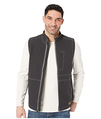 Ariat Rebar Stretch Canvas Softshell Vest (Black) Men