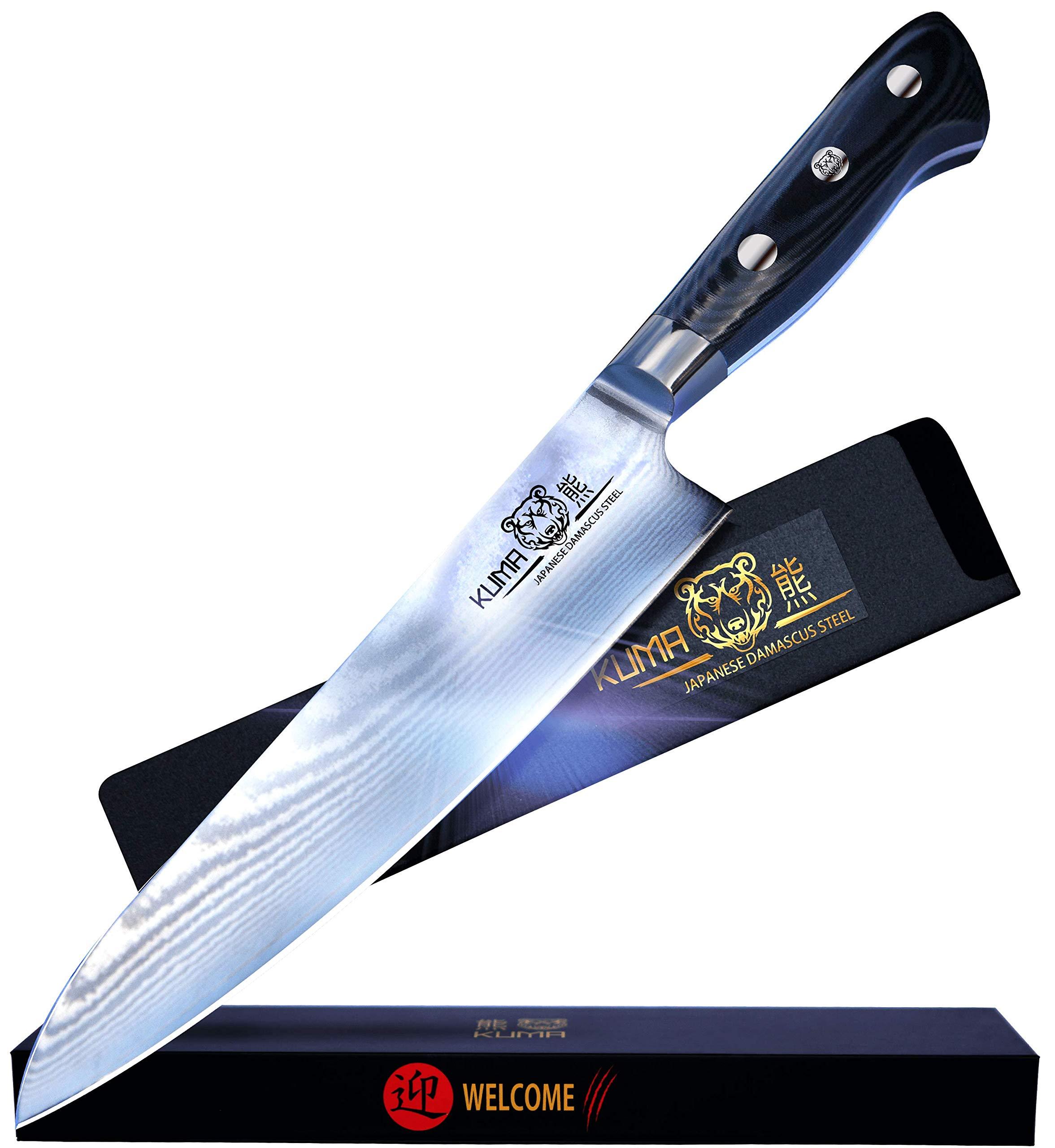 KUMA Professional Damascus Steel Knife