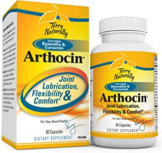 Terry Naturally Arthocin - 60 Vegan Capsules - Joint & Cartilage Support Supplement, Optimizes Comfort, Mobility & Flexibi...