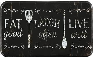 "Chef Series 18""x30"" Antifatigue Kitchen Mats (Eat, Laugh, Live)"