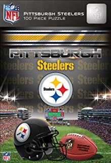 MasterPieces NFL Pittsburgh Steelers Jigsaw Puzzle, 100 Pieces