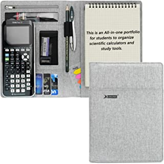 $22 » Sponsored Ad - Portfolio for Texas Instruments TI-CX II, TI-84 Plus CE, TI-Nspire Cx II CAS, All-in-one Protective Organiz...