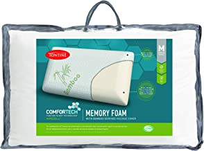 Tontine Comfortech Memory Foam Pillow with Bamboo Cover, Medium T2868