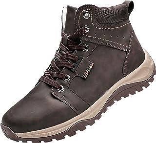 Stivali da Neve Uomo Trekking Inverno Scarpe Impermeabili Antiscivolo Outdoor Pelliccia Sneakers Stivali da Escursionismo
