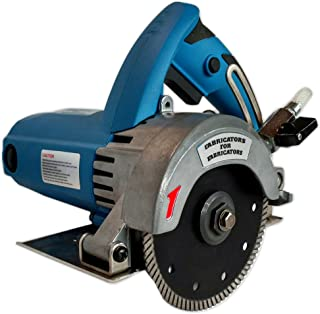 FAB-125 A. Heavy-Duty 2.2HP Stone Cutter 5-inch Contour or Flat Blade Wet/Dry for stone, tile and masonry
