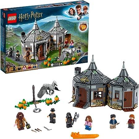 LEGOHarryPotterLaCapannadiHagrid:ilSalvataggiodiFierobecco,PlaysetconlaFiguradell'Ippogrifo,IdeaRegalopergliAmantidelMondodellaMagia,75947