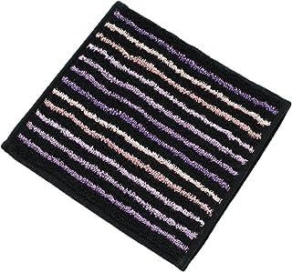 今治毛巾 手帕 条纹×金色珍珠 半毛巾 04紫红×蓝绿