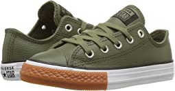 Chuck Taylor® All Star® Leather - OX (Little Kid/Big Kid)