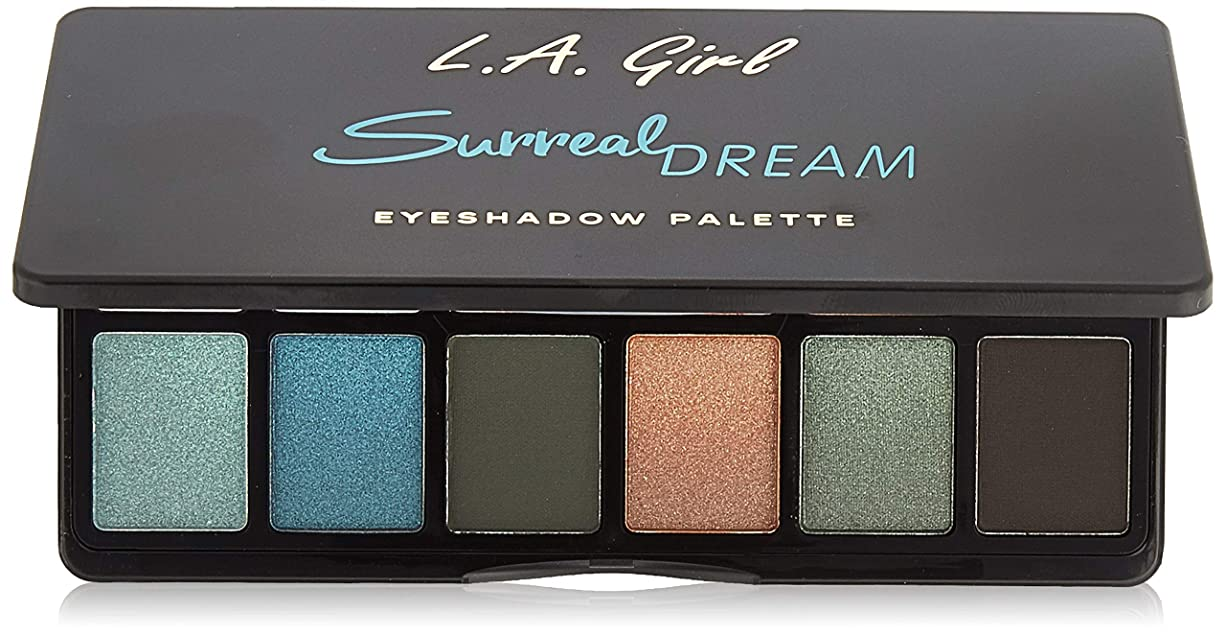 つかの間現実的対人L.A. GIRL Fanatic Eyeshadow Palette - Surreal Dream (並行輸入品)