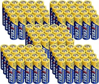 AA Battery R6P UM-3 1.5V Super Heavy Duty Zinc-Carbon Batteries Count Pcs (100)